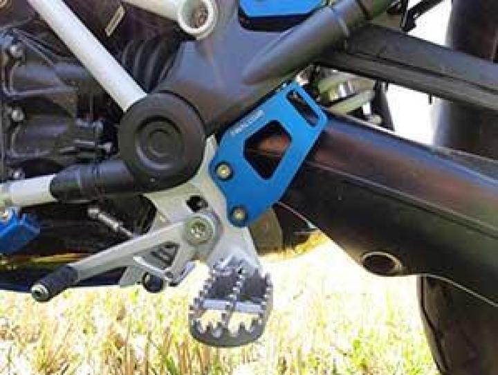 Twalcom TT® - Placas de fixação de cintas de bagagem R1200-1250GS/ADV-LC - Preto