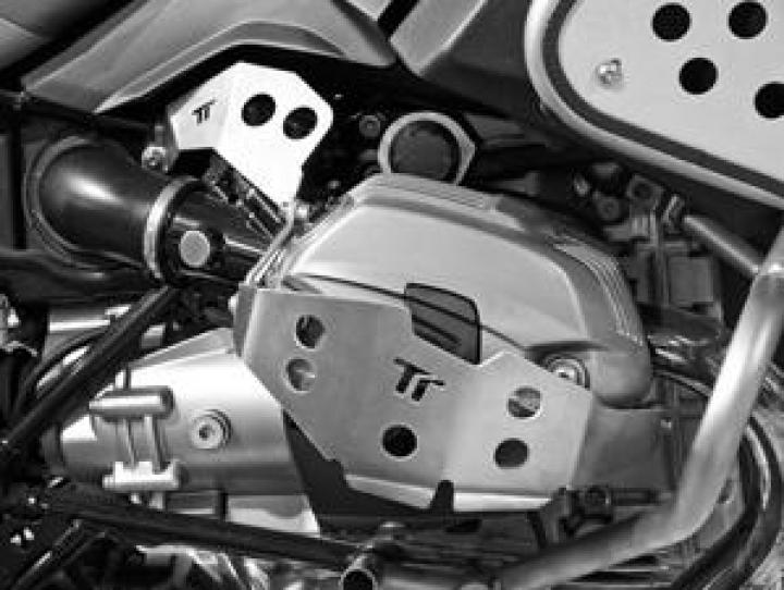 Twalcom TT® Raid cylinder guard BMW R1200GS/ADV 2010/2012 Silver