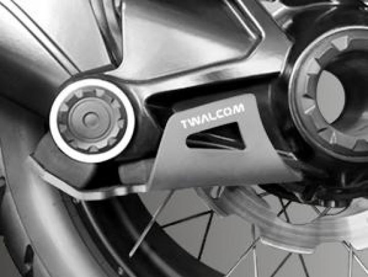 Twalcom TT® Raid Transmission Protection R1200/1250-GS/ADV LC Silver