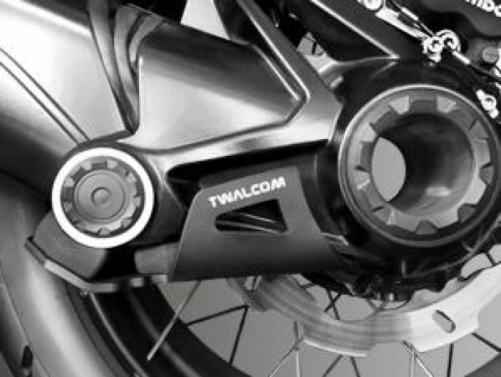 Twalcom TT® Raid Transmission Protection R1200/1250-GS/ADV LC Black