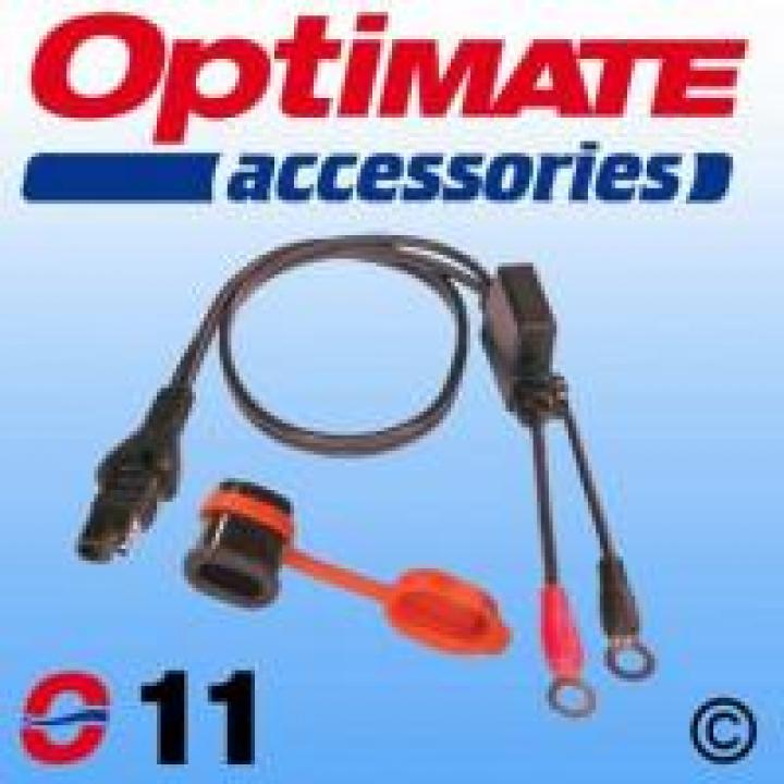 Optimate O-11 Charger Cord 5/16 M8 38070419