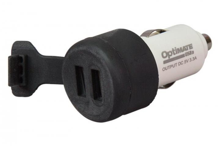 Optimate O-106 2xUSB Charger 3.3A 12V 38070278