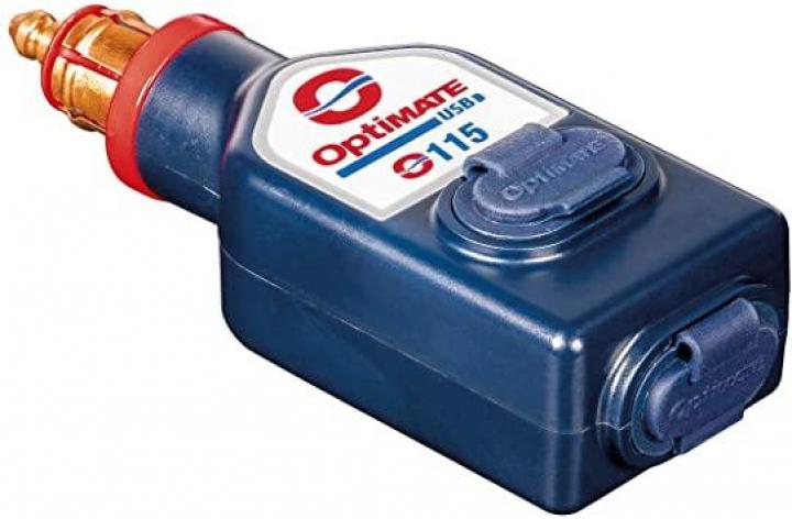 Optimate O-115 Carregados DIN 2xUSB 3.3A 38070541