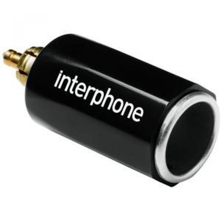 Interphone ACCMOTODIN Adaptador DIN Isqueiro 12V