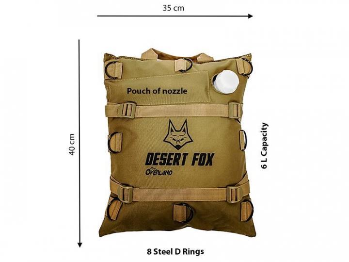 Desert Fox Overland 6L Bolsa p/ gasolina