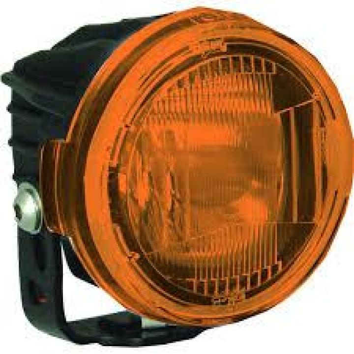 Vision-X Cover Optimus Round Orange Fog