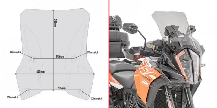 Givi Windscreen  KTM 1290 Super Adventure S 17-20