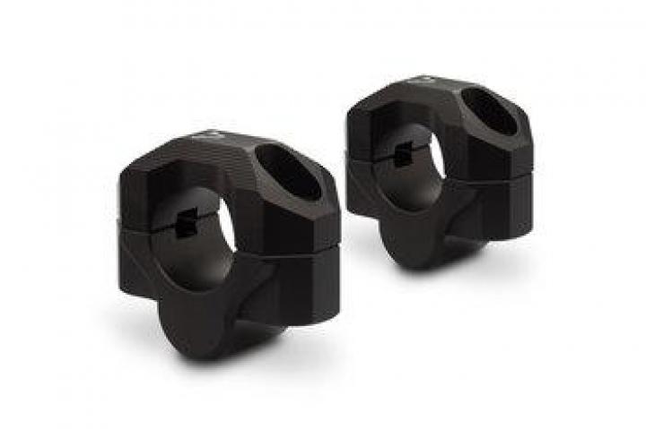 Sw-Motech Bar riser Ø 28 mm handlebar Height 20 mm Aluminum Black
