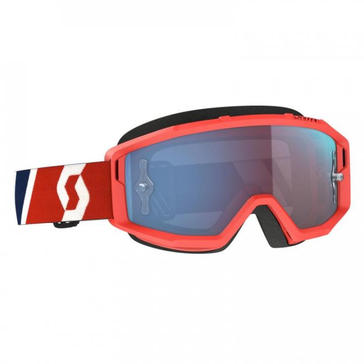 Scott Goggles Primal Red/Blue Blue Chrome Works