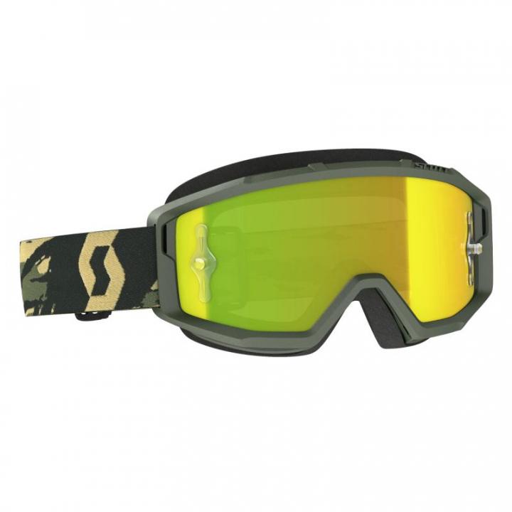 Scott Goggles Primal Camo Kaki/Yellow Chrome