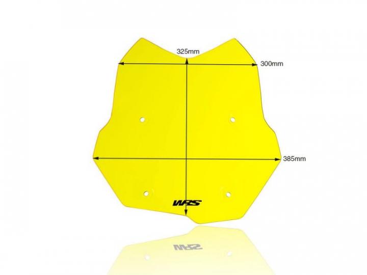 WRS Windscreen Touring Fluo Yellow BMWF850GS 2020