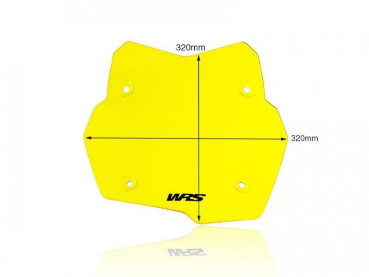 WRS Windscreen Standard Fluo Yellow BMWF850GS 2020
