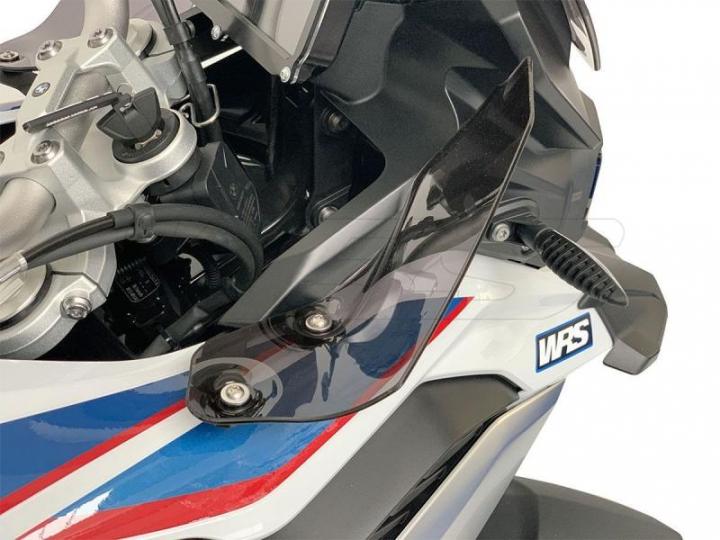 WRS Deflectores Laterais Fumado BMW F750GS/F850GS 2018-2020 (No Adventure)