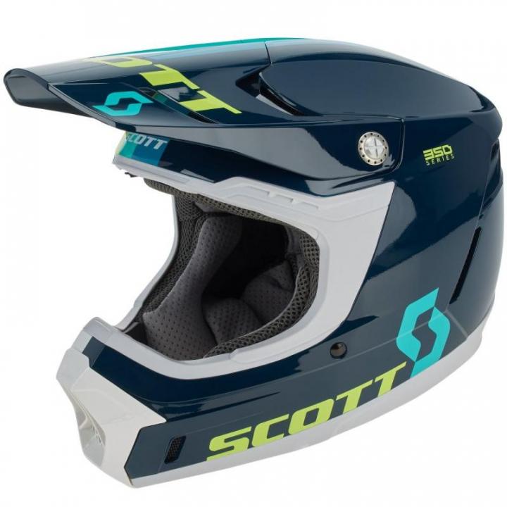 Scott 350 Evo Plus Track Blue/Teal