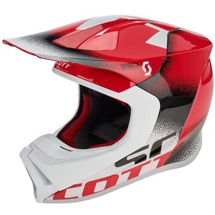 Scott Helmet 550 Noise ECE Red/Black
