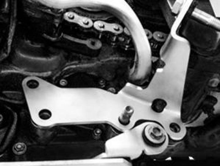 Twalcom TT® Reforço de fixação do descanso lateral KTM 990ADV
