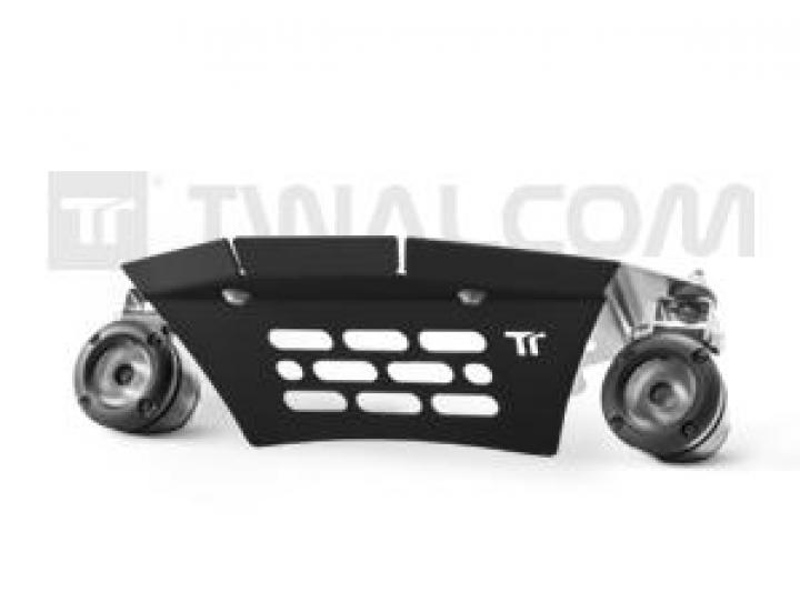 Twalcom Suporte Central fixação de faróis auxiliares Led KTM 990 Adv Preto