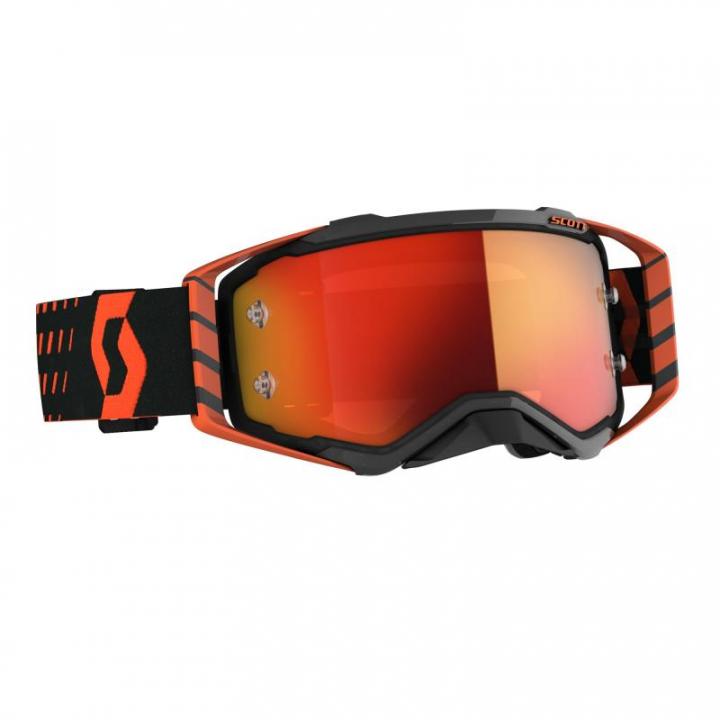 Scott Goggles Prospect Black/Orange Orange chrome works