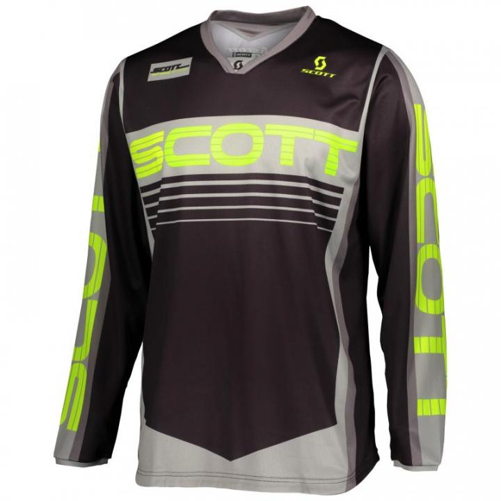 Scott Jersey 350 Race Grey/Yellow