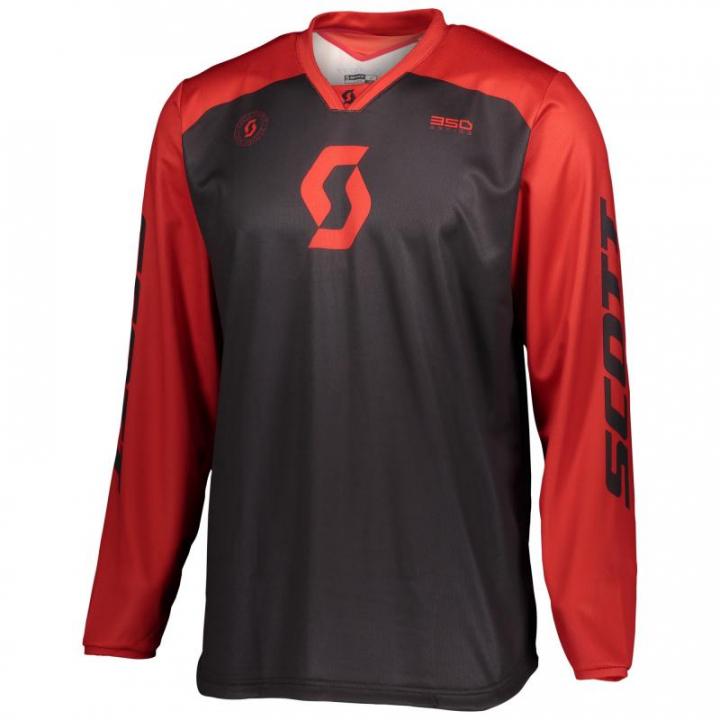 Scott Jersey 350 Track Black/Red