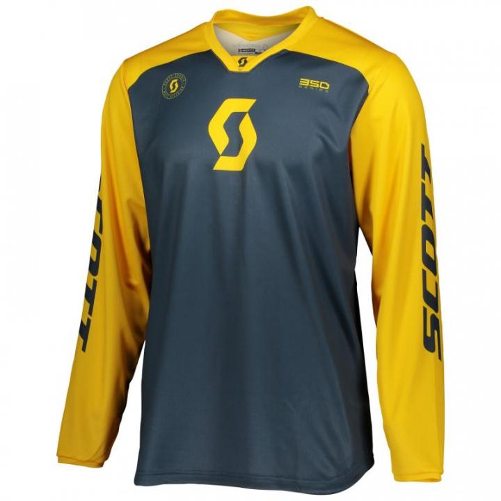 Scott Jersey 350 Track Blue/Yellow
