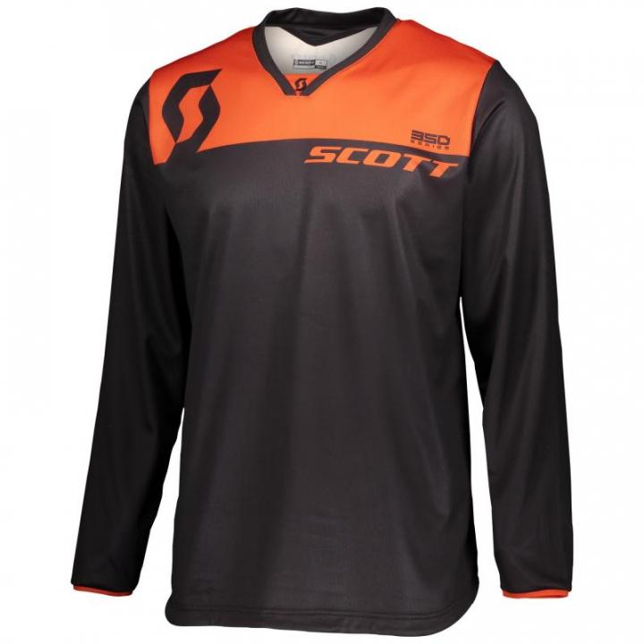 Scott Jersey 350 Dirt Black/Orange