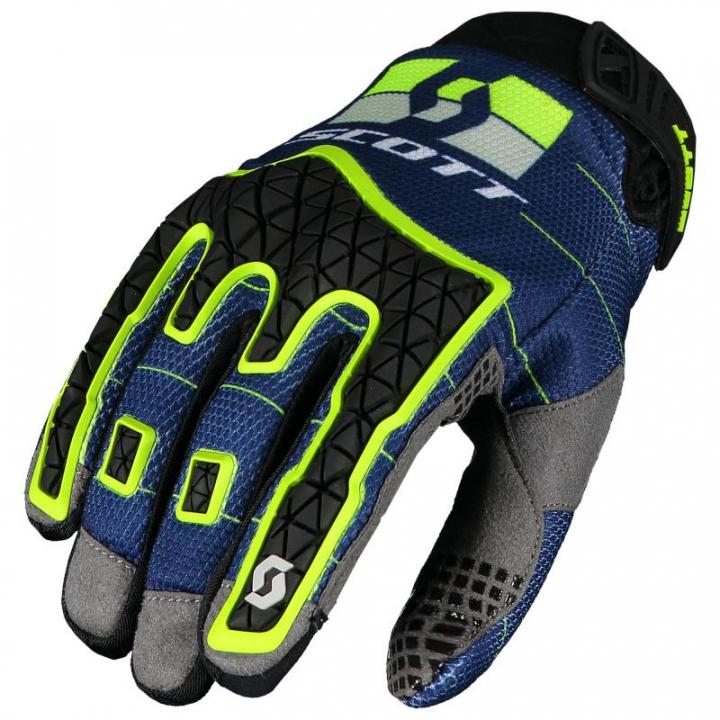 Scott Enduro Glove Blue/Yellow