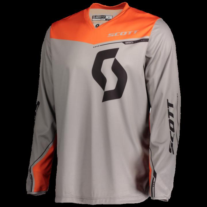 Scott Jersey 350 Dirt Grey/Orange XL