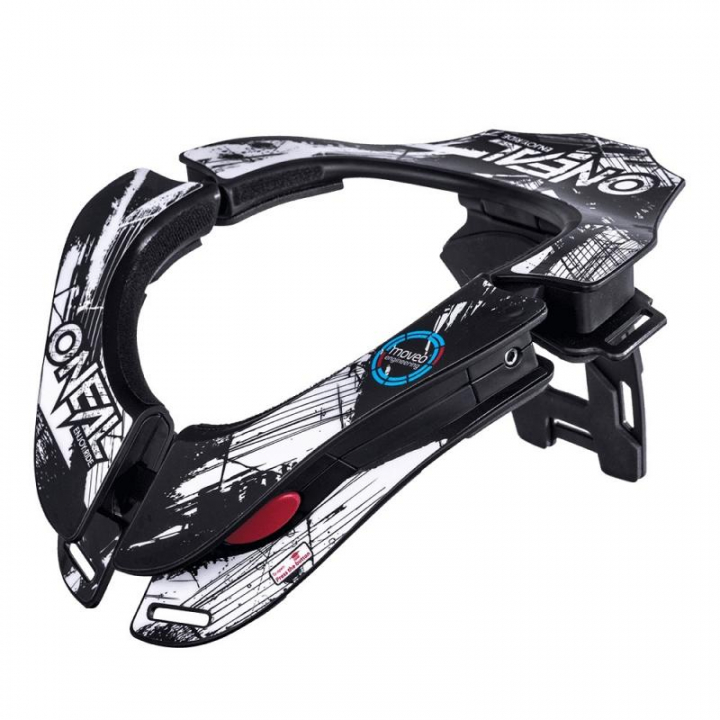 Oneal Tron Neckbrace Shocker Black/White