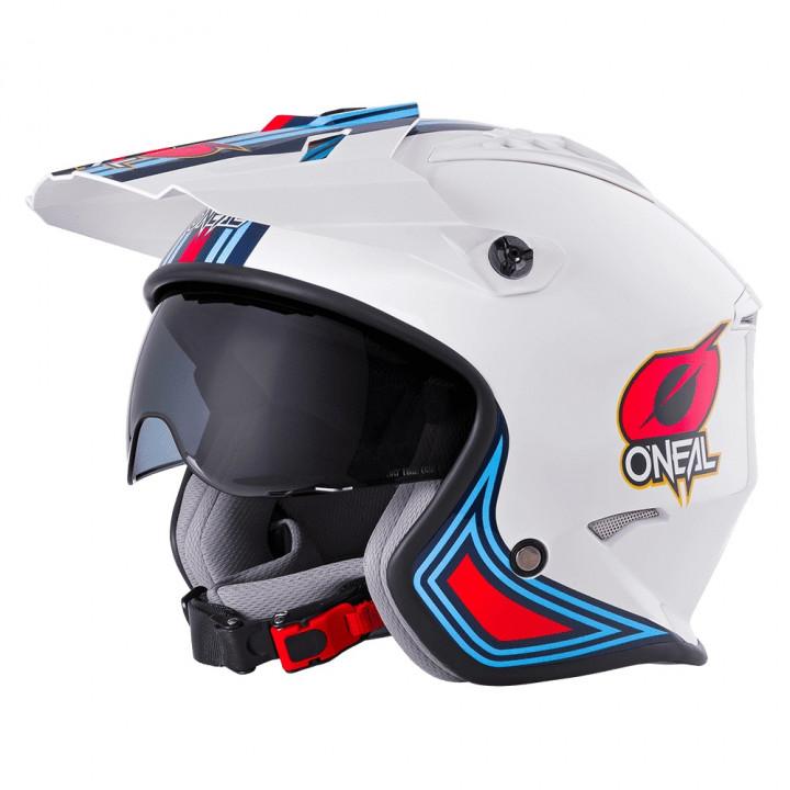 Oneal Volt Helmet MN1 White/Red/Blue