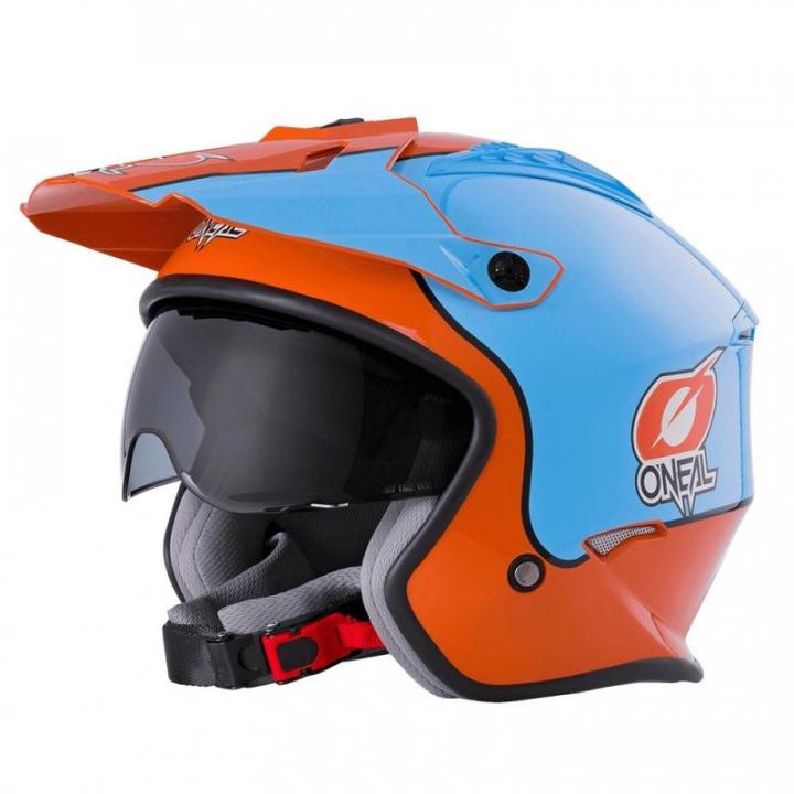 Oneal Volt Helmet Gulf Orange/Blue