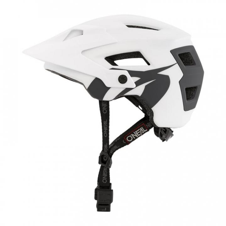 Oneal Defender Helmet Solid White/Grey