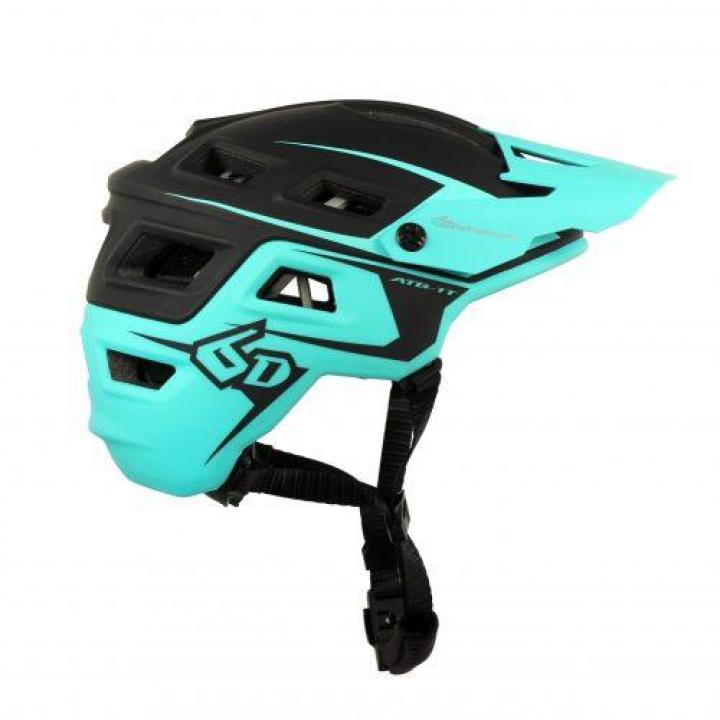 6D Helmets ATB-1T Evo Trail Black/Teal XS/S