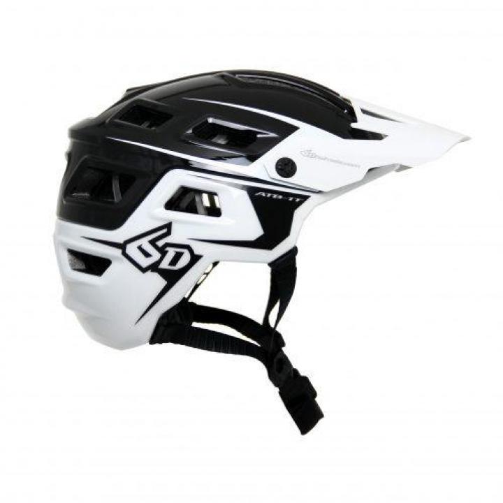 6D Helmets ATB-1T Evo Trail Black/White XS/S