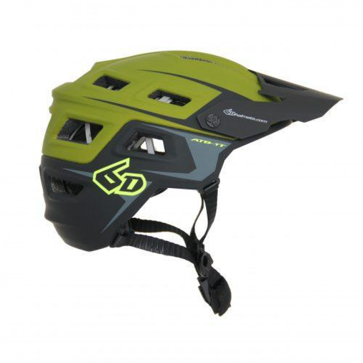 6D Helmets ATB-1T Evo Trail Olive/Black Matte M/L