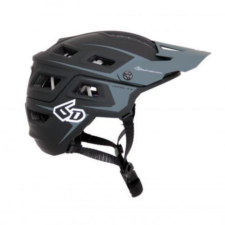 6D Helmets ATB-1T Evo Trail Black/Grey XS/SM