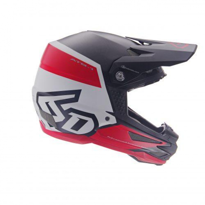6D Helmets ATB1 Flight White/Red