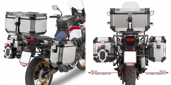 Givi Suporte Malas Laterais Outback Honda CRF1000L (2016/2017)