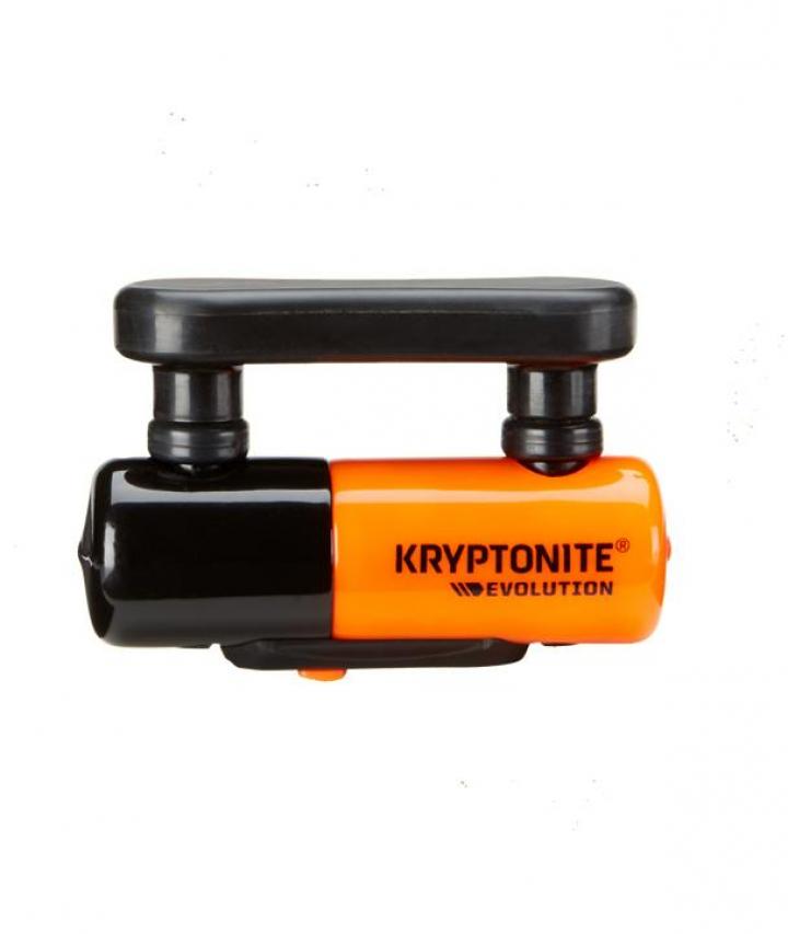 Kryptonite Evolution Compact Disc Lock Orange