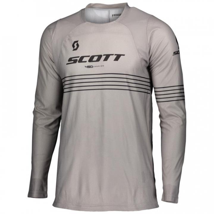 Scott Jersey 450 Angled Light Grey/Black
