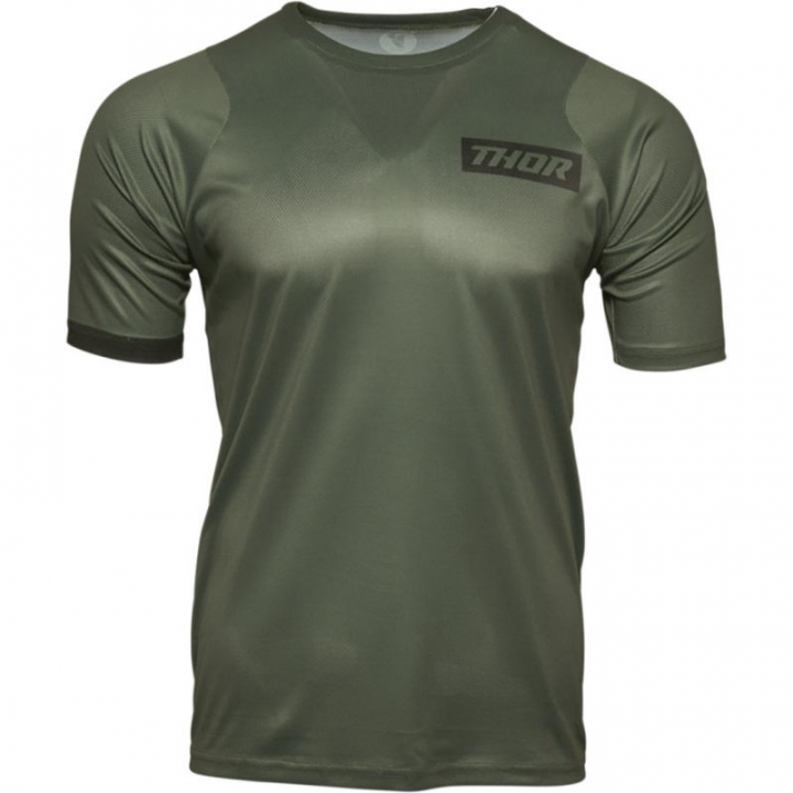 Thor Jersey Assist SS Army Green