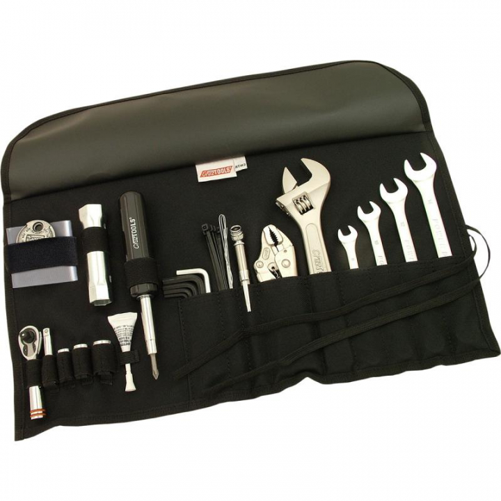 Cruz Tools Bolsa de Ferramenta Kit Road Tech M3 Metric