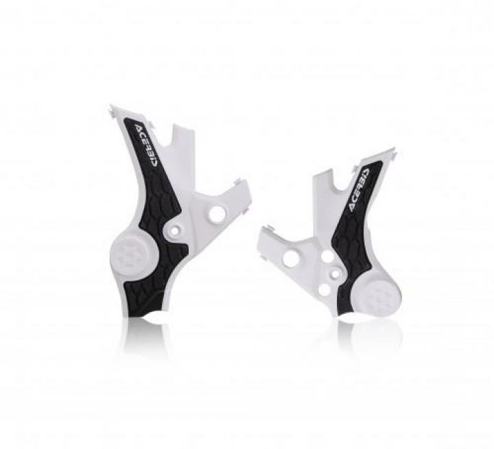 Acerbis X-Grip Frame Protector Honda CRF1100L Africa Twin - White/Black