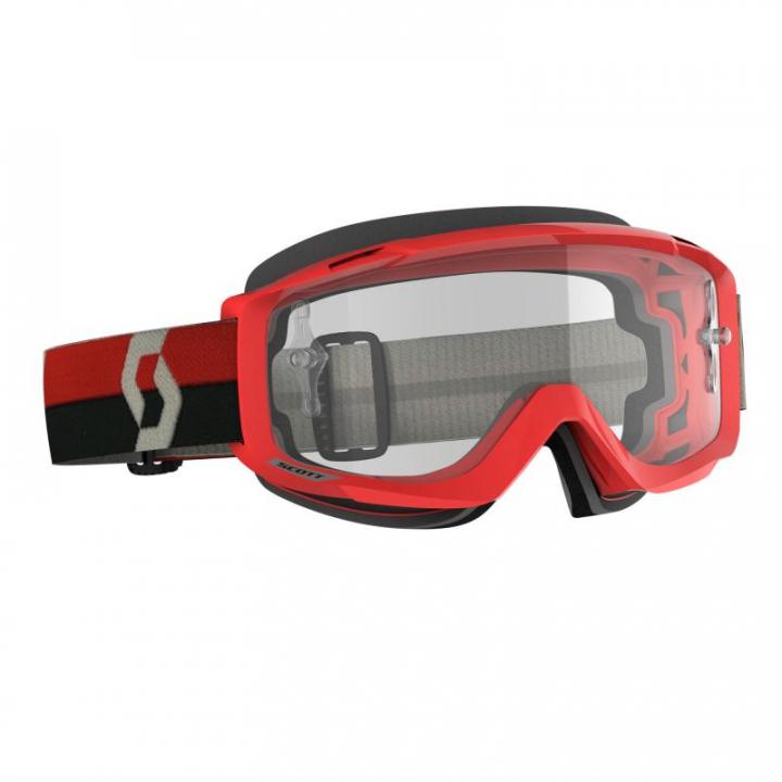 Scott 272834-1010113 OTG Red/Grey Cler Lens